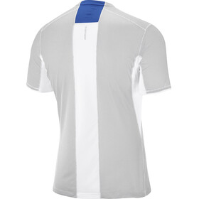 Salomon Trail Runner - T-shirt course à pied Homme - bleu/blanc